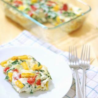 Skinny Kale & Butternut Squash Frittata