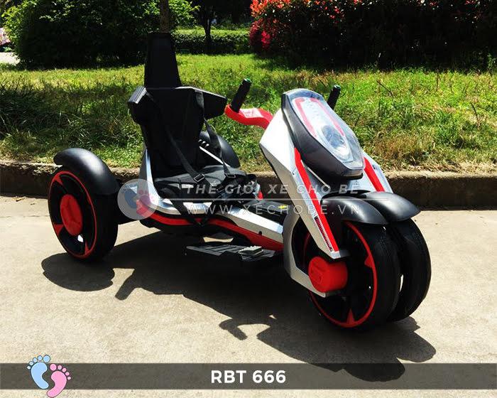 Xe mô tô điện trẻ em 3 bánh RBT-666 4