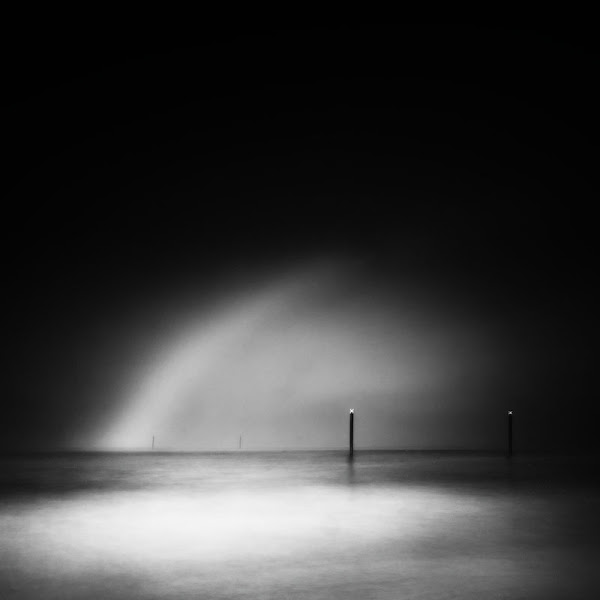 Photo: Sea Fret, posts and greybow