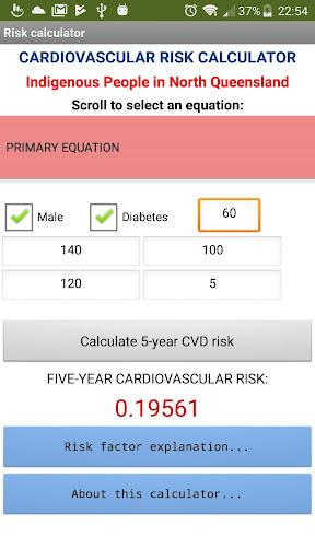 Indigenous CVD Risk Calculator 1.2 screenshots 1