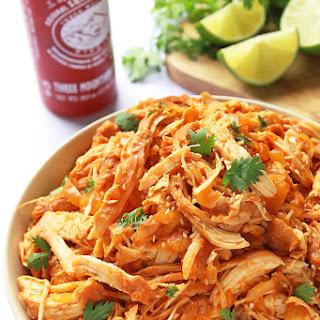 Slow Cooker Sriracha Chicken
