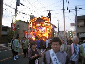 Photo: 夕方になりライトアップ