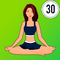 Yoga for weight loss - Lose weight in 30 days plan icon