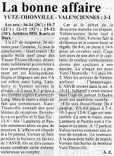 Photo: 03-02-97 N2F L'ASVB poursuit sa bonne série, 3-1 face à Valenciennes