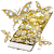 Butterflies Theme Gold Glitter Launcher file APK for Gaming PC/PS3/PS4 Smart TV