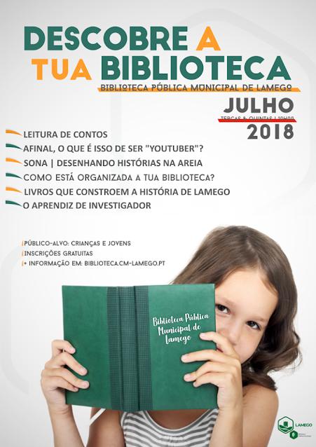 Biblioteca de Lamego dinamiza atividades de verão