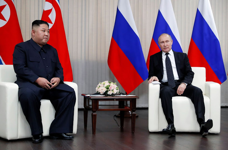 Kim Jong Un And Vladimir Putin Get Down To Business In Russia