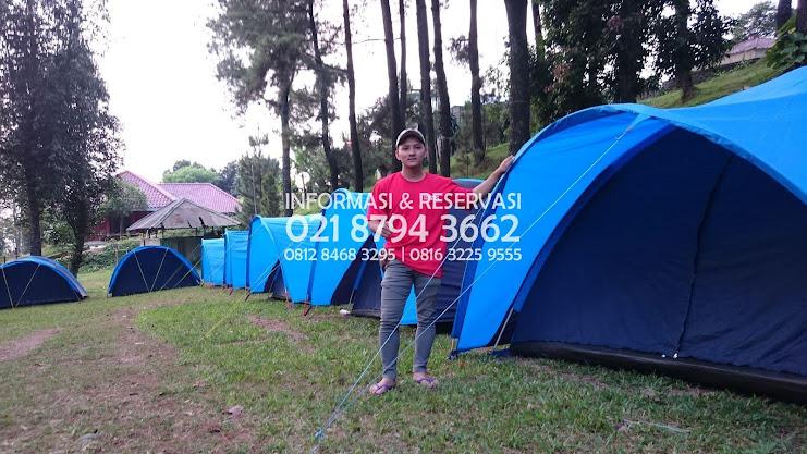 Tempat Perkemahan Keluarga  Agrowisata   Gunung Hambalang Sentul Pas untuk kamu yang tinggal  Daerah Warujaya - Bogor