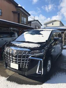 アルファード AGH30W sのタイヤのカスタム事例画像 yukisawaさんの2019年01月03日20:22の投稿