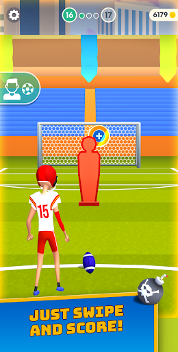 Flick Goal! filehippodl screenshot 5