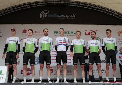 Deux coureurs feront leurs débuts à la Vuelta avec l'équipe Dimension Data : Nicholas Dlamini et Rasmus Tiller