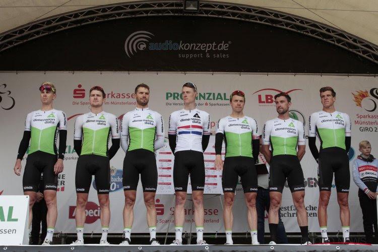 Deux coureurs feront leurs débuts à la Vuelta avec l'équipe Dimension Data