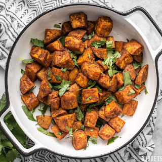 Moroccan Spiced Sweet Potatoes.