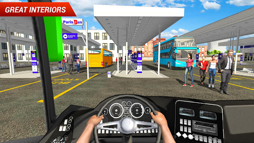 Coach Bus Driving Simulator 2018 4.9 screenshots 2