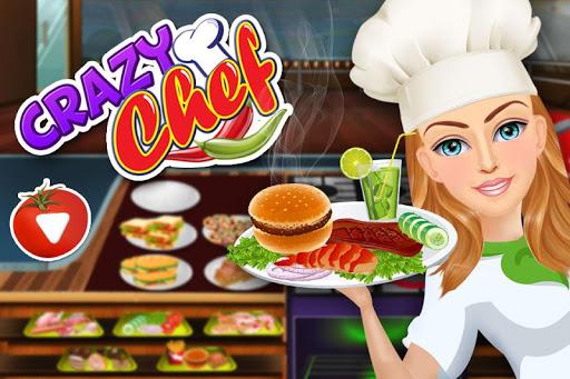 Kitchen Fever Crazy Chef