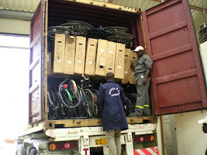 Photo: BfW container in Kenya