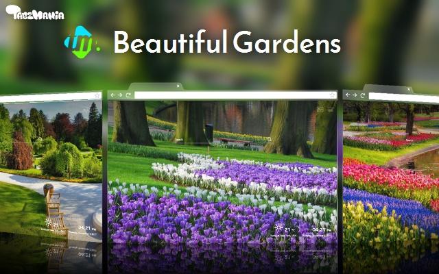 Romantic Gardens HD Wallpapers New Tab