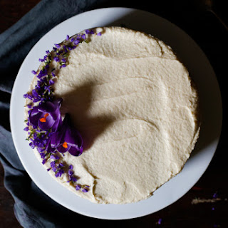 White Almond Sour Cream Cake (aka, Traditional New Orleans Wedding Cake)