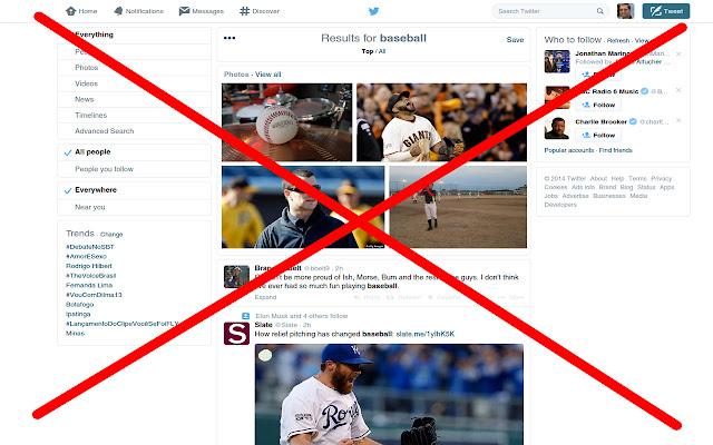 Twitter Sports Filter