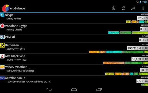 AnyBalance (balance on screen) v4.0.827 [Unlocked] APK 9