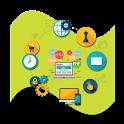 Basics of web development icon