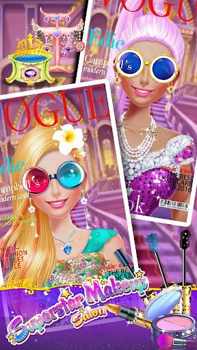 u2b50ud83dudc67Superstar Makeup Salon - Girl Dress Up 2.5.5009 screenshots 7