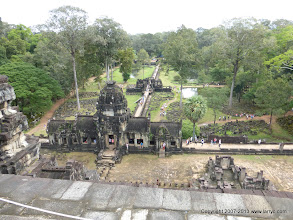 Photo: The view from above, Bauphuon