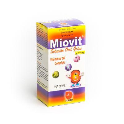 Complejo B Miovit 20 Ml Gotas  Cofasa