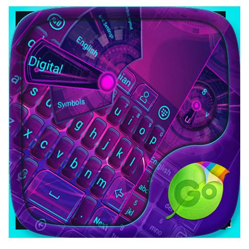 Hi Tech GO Keyboard Theme