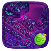 Hi Tech GO Keyboard Theme