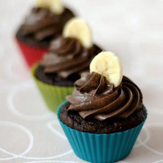 Chocolate Banana Cupcakes.
