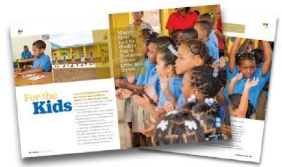 Jamaicaanse Kinderen Krijgen een Nieuwe School door Master Spa