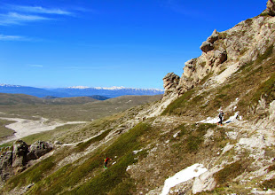 Photo: Finalmente un sentiero comodo