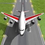 Pilot Plane Landing Simulator Icon