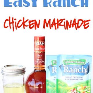 Easy Ranch Chicken Marinade Recipe!