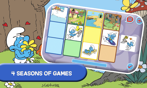 Smurfs and the four seasons apktram screenshots 2