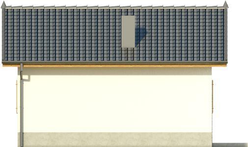 Domek 9 - Elewacja lewa
