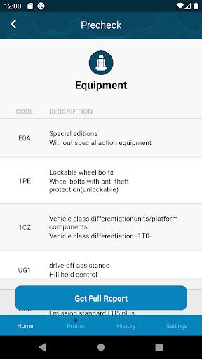 Volkswagen History Check: VIN Decoder apktram screenshots 3