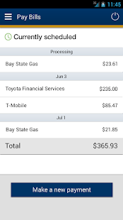 myCCCU Mobile Banking - screenshot thumbnail