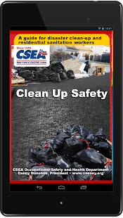 CSEA Clean-Up Safety- screenshot thumbnail