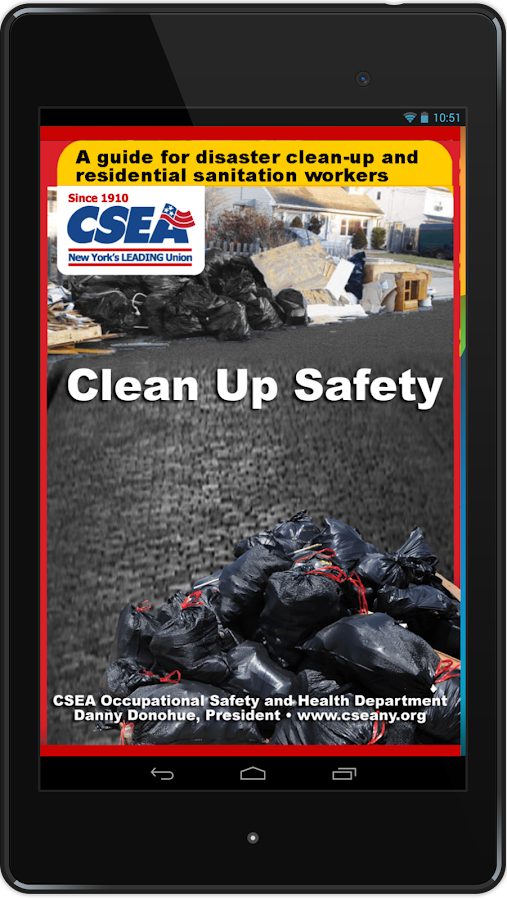 CSEA Clean-Up Safety- screenshot