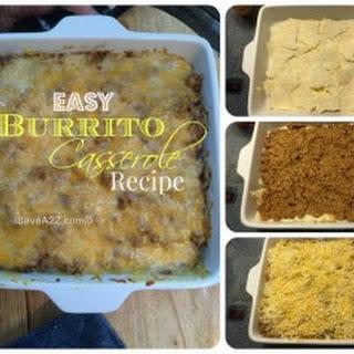 Easy Burrito Casserole