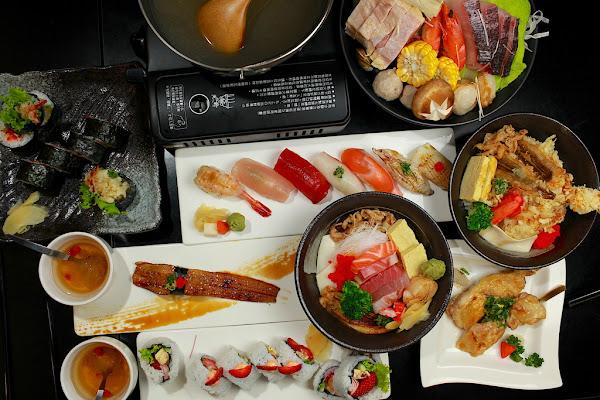 台南安平區值得樂天小高二訪。冬季限定草莓壽司,豪邁美味の丼飯,暖呼呼の海鮮火鍋日銘手作リ壽司。 樂天小高の美食之旅