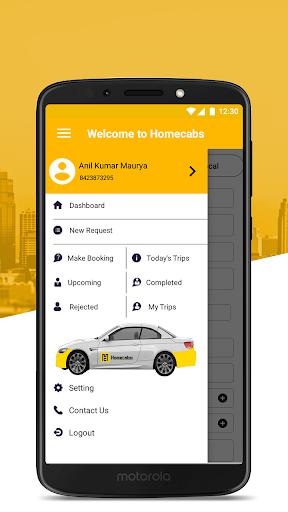 Homecabs Employee's 1.19.15 screenshots 2