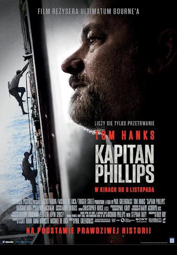 Polski plakat filmu 'Kapitan Phillips'