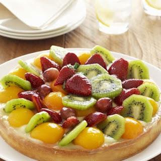 Custard Gateau with Fruit