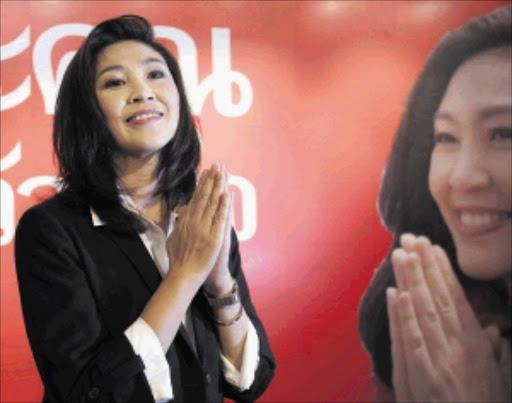 Yingluck Shinawatra. File photo