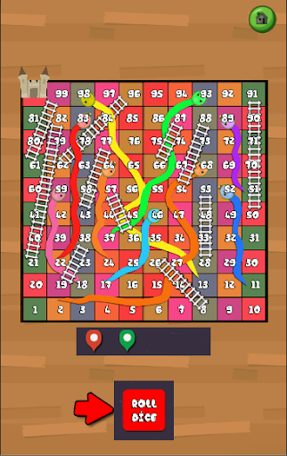 Neo Classic Snake and Ladder : King of Board Game filehippodl screenshot 2