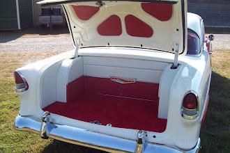 Photo: 1955 Chevy Custom Int. by Scarlett's Auto Interiors