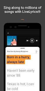 SoundHound ∞ - Music Discovery & Hands-Free Player Screenshot